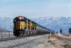 UP 3722 West at Hawley, CA (thechief500) Tags: featherriverroute railroads up