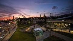 The Kremlin and the park Zaryadye at sunset. Moscow, Russia (varfolomeev) Tags: 2018 россия город ночь russia city night fujifilmxt10 samyang12mm