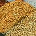 Cashews and pistachios