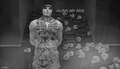 Mortal Remains! (MauMau_Yakusa) Tags: taox tattoo halloween cranked backdrop horror matova
