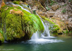 Waterfall in Choranche, France (Jhopne) Tags: france aug18 grottedechoranche travel cascadeàchoranche canonef2470mmf28lusm choranche cascade canoneos5dmarkii sourceàchoranche waterfall water stream moss