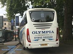 OLYMPIA TRAVEL OF WIGAN IRIZAE i6 INTEGRAL YN14 NOF ROYAL WELL BUS STATION CHELTENHAM 11102018 (MATT WILLIS VIDEO PRODUCTIONS) Tags: olympia travel of wigan irizae i6 integral yn14 nof royal well bus station cheltenham 11102018
