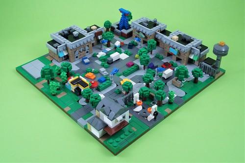 Retail Row: Microscale Build