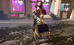Snapshot_shopping_for_Daddy (jeffresident) Tags: cream jeff jeffferie pregnant pantyhose mesh redhaired shopping essenz maitreya catwa outdoor classy babygirl shadows belly nylon mules rld