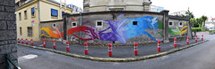 Colibris (HBA_JIJO) Tags: streetart urban graffiti pochoir stencil animal art france hbajijo wall mur fresque oiseau bird colors urbain paris78 street view stew