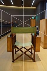 The Establishing Shot : STANLEY KUBRICK: THE EXHIBITION & THE DESIGN MUSEUM 2019 EXHIBITION PROGRAMME ANNOUNCEMENT - STANLEY KUBRICK'S DIRECTORS CHAIR  ONE POINT PERSPECTIVE (KUBRICK AFFECTIONADOS UNDERSTAND THIS ONE) - DESIGN MUSEUM, LONDON (Craig Grobler) Tags: ckc1ne craiggrobler craigcalder london film uk theestablishingshot wwwtheestablishingshotcom theestshot attheestshot thestanleykubrickexhibition stanleykubrick exhibition filmexhibition designmuseum sony sonyalpha77 alpha77 panel props filmprops filmmaking janharlan alanyentob deyansudjic stuartbrown bfi aliceblack justinmcgurick mars