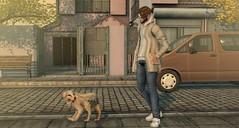 #216.- Do you wanna play? (Davidmetal.holfe) Tags: modulus sleepyeddy riot versov tmd kustom minimal sl second life virtual world linden lab blog fashio pet dog jian 3d game