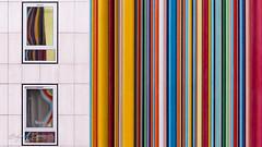Lignes (eddy_737) Tags: canon paris ladéfense ladefense colors colorful ligne lignes lemoretti moretti parallel abstract urban