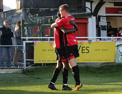 Lewes 2 Folkestone Invicta 0 20 10 2018-203-2.jpg (jamesboyes) Tags: lewes folkestoneinvicta football soccer fussball calcio voetbal amateur bostik isthmian goal score celebrate tackle pitch canon 70d dslr