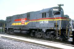 L&N C628 7519 (Chuck Zeiler) Tags: ln c628 7519 railroad alco locomotive corbin train giballbach chz