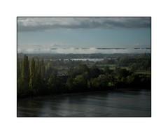 Sous la pluie (SiouXie's) Tags: color couleur fujix20 fuji fujifilm siouxies duclair seine river rivière campagne nature paysage landscape rain pluie