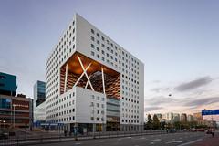 O|2 Building (Jack Landau) Tags: o|2 building zuidas amsterdam 02 o2 modern architecture city urban design sunset dusk canon 5d jack landau