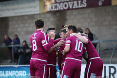 Forfar Athletic 2 - 3 Arbroath - (Scotsman_in_Hawaii) Tags: stationpark forfarathletic theloons arbroath theredlichties smokiesandwine 360 scottishfootball spfl1 arbroathfc canon5dmarkiii canon5dmark3 saturday8thdecember2018 canon1dxmarkii