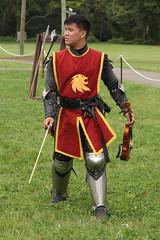Violin-Playing Knight (Itinerant Wanderer) Tags: pennsylvania buckscounty wrightstown villagerenaissancefaire