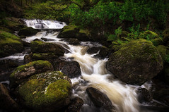 Inversnaid waterfall (chrismarr82) Tags: nikon scotland waterfall loch lomond water rocks