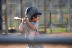 Batter Up (NC Mountain Man) Tags: littleleague catcher batter glove bat fence homeplate girl boy hat kids game baseball ncmountainman nikon d3400 phixe lowresolutionversion