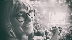 Farwell Yellow Brick Road (flashfix) Tags: september282018 2018inphotos flashfix flashfixphotography ottawa ontario canada oneplus3 cameraphone mom portrait monochrome blackandwhite concert eltonjohn