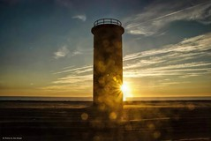Tower Beach.... (Joe Hengel) Tags: towerbeach lowerslowerdelaware lsd lewes lewesde delaware de watchingthesunrise waves water atlanticocean golden glow gordonpond beach bluesky silhouette silhouettes shore shoreline bokeh clouds cloudsbluesky cloudy seaside sea seascape seashore beachocean sun sunrise sunlight fall tower fortmiles capehenlopenstatepark statepark capehenlopen