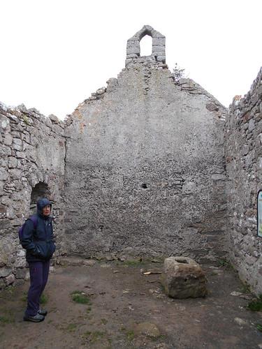 Hen Capel Lligwy, Anglesey. The interior.