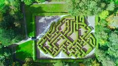 Carnfunnock Maze (Tartan Eyes) Tags: northernireland countyantrim larne carnfunnockcountrypark carnfunnockmaze drone phantom4proobsidian dji