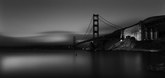 The Golden Gate Collection No. 1 (Richard Terpolilli) Tags: sanfrancisco marincounty goldengatebridge fineartphotography fineartblackwhitephotography fineartblackandwhite longexposurephotography longexposureseascapes bwlongexposurephotography nikond850 nikkortiltshift24mmlens