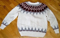 Icelandic wool sweater (Mytwist) Tags: ullar itchie icelandic classic love passion design handcraft craft sweater itch wool reykjavik fairisle fair isle íslensk fashion mytwist lopi pattern exclusive style fetish chunky bulky cozy retro timeless authentic heavy handgestrickt fuzzy casual icelandicsweater peysa 88 spanis gift spanis88