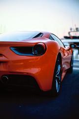 488 (pedrojltorres) Tags: ferrari car automotive sunset red italian 488 film 35mm agfa precisa 100 135 olympus om2n zuiko 50mm 14 portugal vilamoura spot