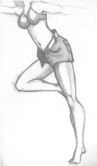 SASSY PENCIL (DREADNOUGHT2003) Tags: pencil color chalks drawings anatomy