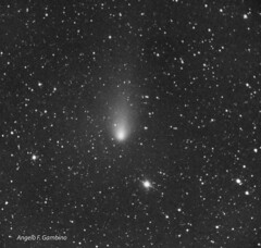 The Comet 21/P Giacobini-Zinner close to the periastron on September 2018 (Angelo Franck Gambino) Tags: 21pgiacobinizinner comet monochromatic astrophotography zwoasi1600mm