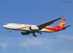 F-WWCR Airbus A330 Hainan Airlines (@Eurospot) Tags: fwwcr airbus a330 a330300 hainanairlines toulouse blagnac b303c