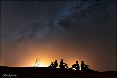 Dunas de Erg Chebii, Merzouga. Morocco. (RikiAguilar) Tags: vialactea estrellas stars desierto marruecos morocco luz noche milkyway