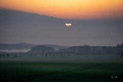 2018 Sunrise over the first fog (jeho75) Tags: sony ilce 7m2 g tele deutschlandgermany harz autumn fall herbst fog nebel morning morgen sunrise sonnenaufgang landschaft landscape