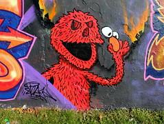 Prinsenpark (oerendhard1) Tags: graffiti streetart urban art rotterdam oerendhard prinsenpark sicaz