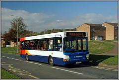 More 'WET PAINT' (Jason 87030) Tags: hollowellway rugby warwickshire hill roadside transport paint new application app what weather sunny jasmine bus wheels fun 4 brownsover slf pointer dart dennis 35182 kx56kgo