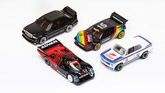 Hot Wheels (m.grabovski) Tags: hot wheels porsche 962 bmw 2002 turbo m1 procar mercedes 190e 25 evo ii car culture