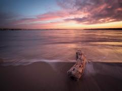 Good Morning Salou! (Timothy Gilbert) Tags: log laowacompactdreamer75mmf20 beach wideangle spain water m43 microfourthirds panasonic microfournerds sunrise ultrawide gx8 lumix salou
