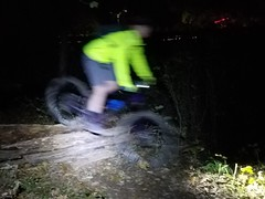 Jessica Ghost (mcfeelion) Tags: cycling bike bicycle mtb nightride annandaleva wakefieldpark