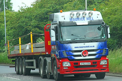 Mercedes Actros Maurice Hill AY62 ZZB (SR Photos Torksey) Tags: transport truck haulage hgv lorry lgv logistics road commercial vehicle traffic freight mercedes actros maurice hill