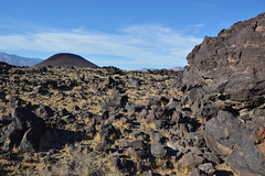 With a cinder cone in the distance (radargeek) Tags: california ca us395 fossilfalls coso volcano volcanic