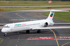 Bulgarian Air Charter (ab-planepictures) Tags: eddl dus düsseldorf flugzeug flughafen airport aircraft plane planespotting aviation