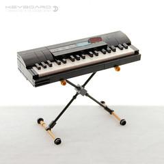 Keyboard (dvdliu) Tags: music instrument classical guitar electric amp amplifier keyboard piano drum set lego moc