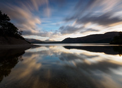 Derwent water reflection (Alf Branch) Tags: olympus olympusomdem1 omd olympusomdem5mkii panasonic leicadg818mmf284 landscape lakes lakedistrict lake lakesdistrict longexposure cumbria clouds cumbrialakedistrict calmwater water alfbranch morning dawn