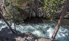 Firehole River in Firehole Canyon, Yellowstone National Park (Rick Knepper) Tags: fujifilmgfx50s gf3264mmf4rlmwr