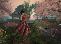 1_Spring_Dance (Peony Sweetwater) Tags: secondlife secondlifefashion secondlifeavi secondlifeavatar slfashion slexploration slavatar dance