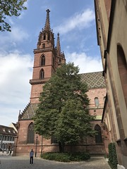 Basel Cathedral - Switzerland (firehouse.ie) Tags: switzerland buildings building ancient historic oldtown structure faith religious religion houseofworship christianity christian churches church cathedrals cathedral architecture baselcathedral baselstadt basel