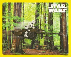 Star Wars 2019 Calendar Poster (Darth Ray) Tags: star wars 2019 collectors edition calendar speeder bike poster