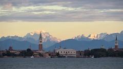 Venice skyline 2 October 2018 (gianni.turris) Tags: venice venezia mountains skyline montagne lagoon laguna san marco campanile tower italy italia 2018 morning