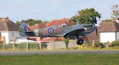 Supermarine 359 Spitfire HF.VIIIc D-FEUR Lee on Solent Airfield 2018 (SupaSmokey) Tags: supermarine 359 spitfire hfviiic dfeur lee solent airfield 2018