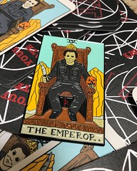 Repost @pinxtizzle ・・・ The Emperor is now on sale. . . . . #horrorarcana#halloween#theemperor#michaelmyers#horrormovies#tarot#horror#horrorpins#enamelpin#enamelpins#enamelpingame#pin#pins#pinstagram#pinsofig#pinsofinstagram#pinxtizzle#yourmomatemydog#pinc (The Coma King) Tags: squadlit pin pins enamelpins enamelpin lapelpin lapelpins pingame pinlife patchgame hatpin hatpins pingamestrong pingameproper pinnation hatpinsforsale