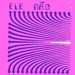 ele não (stêvz) Tags: elenao bagdamirim chupamangarecs cover album setas arrows stevz design letraset